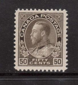 Canada #120 VF/NH & Choice **With Certificate**