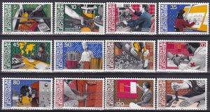 Liechtenstein #787-98 MNH CV $7.90 (Z2983)