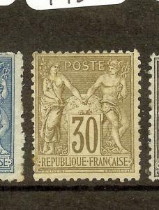 FRANCE  (B1004B) SC73  MOG