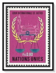 United Nations Geneva #87 Court Of Justice MNH