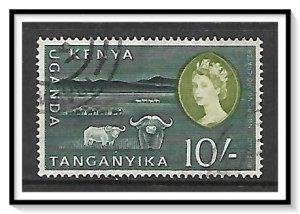 Kenya Uganda Tanganyika (KUT) #134 Crater & Buffaloes Used