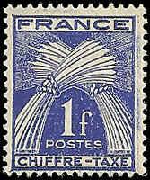 France - J72 - MNH - (Penciled Back) - SCV-0.25