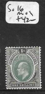 SOUTHERN NIGERIA  (PP1209B) KE 1/-  SG 16  MOG