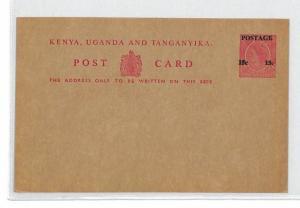BU367 British KUT Unused Postcard PTS