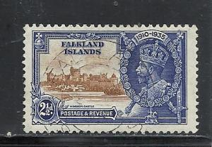 Falkland Islands #78 used cv $2.25