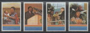 1993 Swaziland 624-627 25 years old King Mswati III 4,00 €