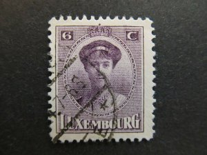 A4P26F45 Letzebuerg Luxembourg 1921-26 6c used