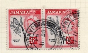 Jamaica 1956 Early Issue Fine Used 6d. 283895