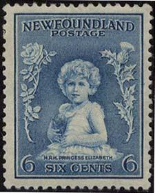 Newfoundland USC #192 Mint 1932 6c Princess Present Queen Elizabeth - VF-NH