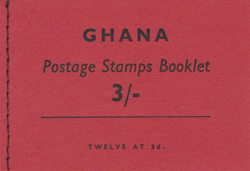 Ghana #96a Complete Booklet  CV $3.00  (A2680)