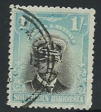 Southern Rhodesia SG 10  Used  faded colour???
