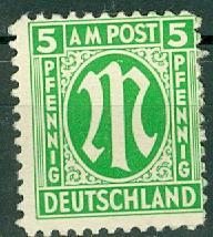 Germany - Allied Occupation - AMG - 3N4 MNH (SP)