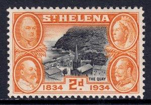 St. Helena - Scott #104 - MH - SCV $2.75