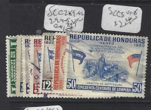 HONDURAS  (PP0401B)  SC C 289-92,294-5   VFU