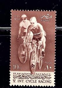 Egypt 418 MNH 1958 Bicycle Race