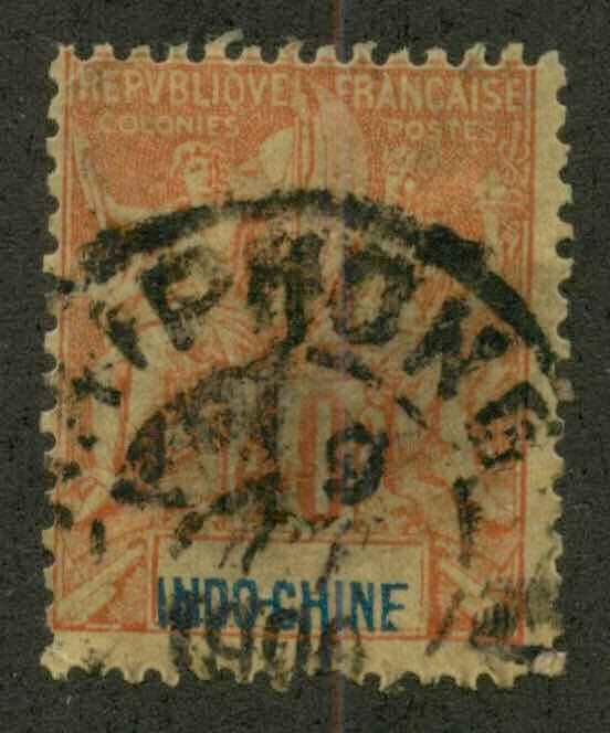 Indo-China 16 Used Ave Hyphong cancel