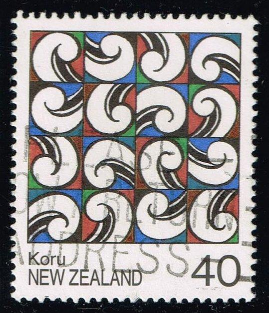 New Zealand #895 Maori Paintings; Used (0.65)