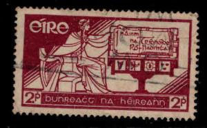 Ireland Scott 99 used 1937 constitution day stamp