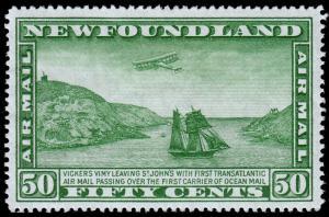 Newfoundland Scott C7 (1931) Mint LH VF, CV $35.00 C