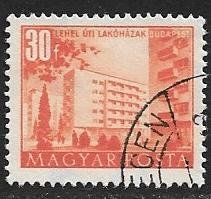Hungary 1951 Scott # 963 used. Free Shipping for All Additional Items.