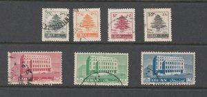 LEBANON - LIBAN USED SC# 356-363
