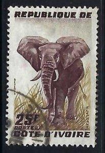 Ivory Coast 168 VFU FAUNA Z4027
