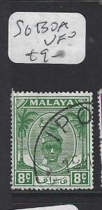 MALAYA PERAK  (PP0502B)   SULTAN 8C   SG  130A   VFU