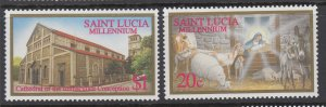 St Lucia 1111-1112 MNH VF