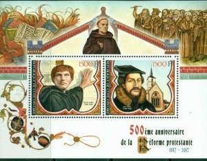 2017 MS 500th Anniversary Reformation Martin Luther Jean Calvin religion 400173