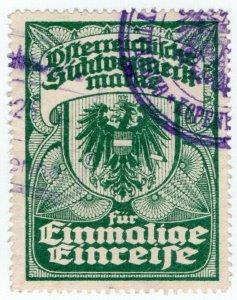 (I.B) Austria/Hungary Revenue : Passport Fee (Long Term Visa)