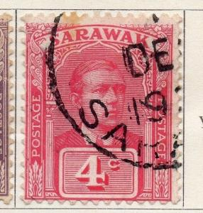 Sarawak 1918 Early Issue Fine Used 4c. 050864