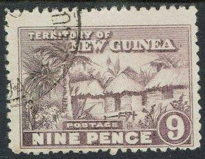 NEW GUINEA 1925 HUT 9D USED