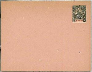 24176  - MADAGASCAR: Nossi Be - Postal History - POSTAL STATIONERY COVER