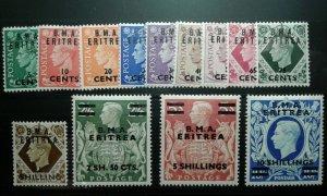 Great Britain/Eritrea #1-13 MNH e205 9394