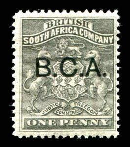 BRITISH CENTRAL AFRICA  SC# 7 1s MH Fine