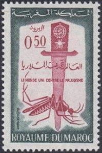 Morocco # 67 mnh ~ 50¢ Malaria Eradication