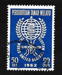 Federation of Malaya 1962 - U - Scott #104