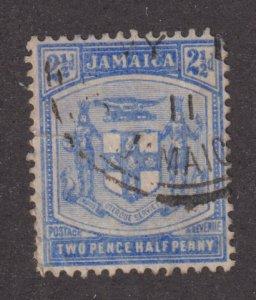 Jamaica 46  Arms of Jamaica 1910