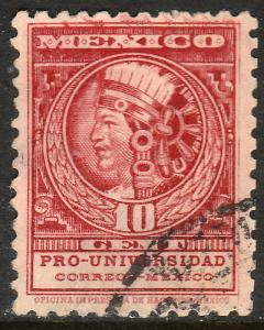 MEXICO 699, 10cents, UNIVERSITY ISSUE. USED. VF. (506)