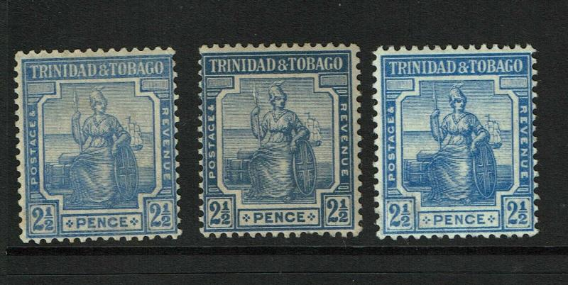 Trinidad & Tobago SG# 151 (a&b) / Mint Light Hinged (See Notes) - S6280