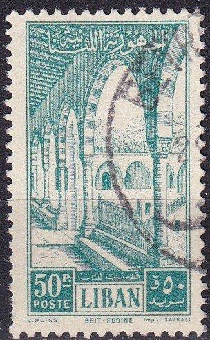 Lebanon #283 F-VF Used CV $5.00  (Z9148)