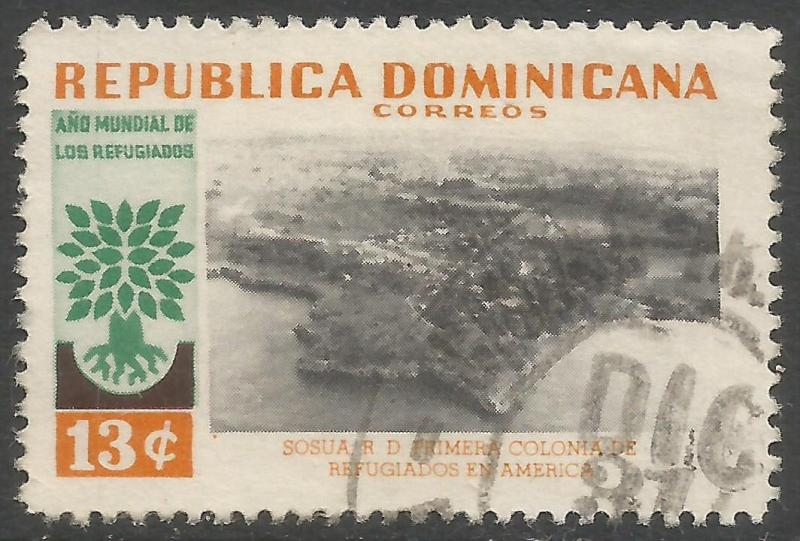 DOMINICAN REPUBLIC 524 VFU 349A-5