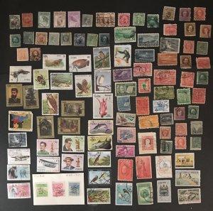 Cuba-used Lot of 100+, Starting Bid $.01