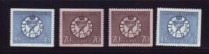 Sweden Sc 776-9 1968 National Bank stamps mint NH