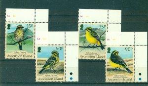Ascension Is. - Sc# 1004-7. 2010 Birds. MNH $8.25.