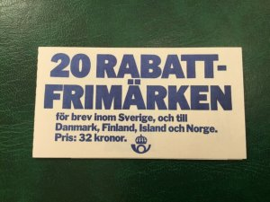 ICOLLECTZONE Sweden 1459a Booklet VF NH