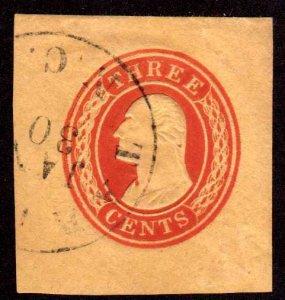 MALACK U2 SUPERB, lovely town cancel,  nice stamp w4339