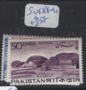 PAKISTAN (P2004B)  SG 188-191     MOG