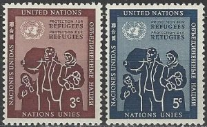 United Nations 15-6 MH  Refugees