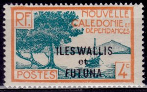Wallis and Futuna, 1930-38, 4c, sc#46, MLH